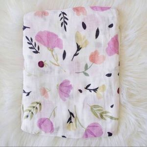 Other - Baby Floral Muslin Swaddle Blanket